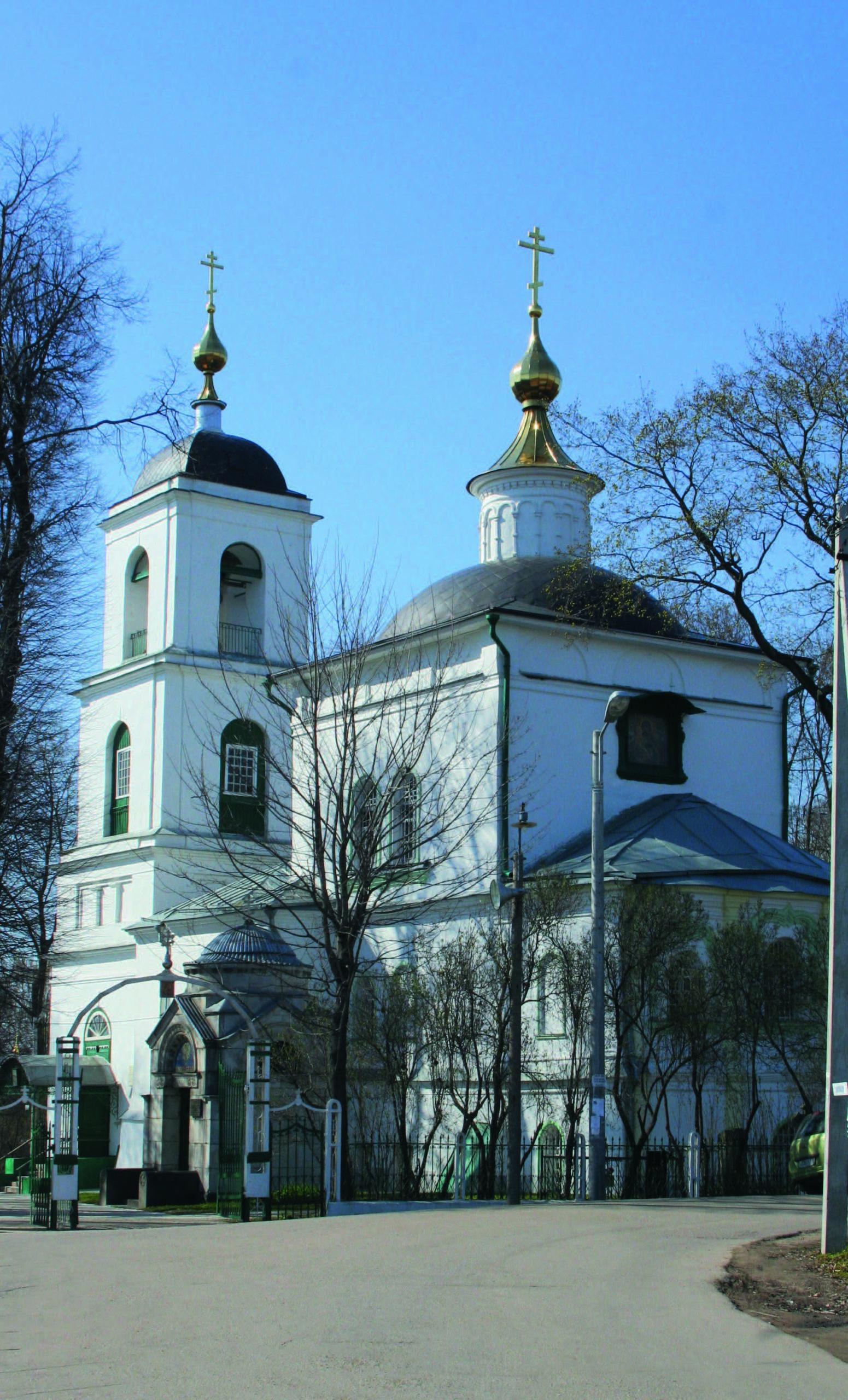 Рис.6. Церковь Владимирской иконы Божией матери в Куркино