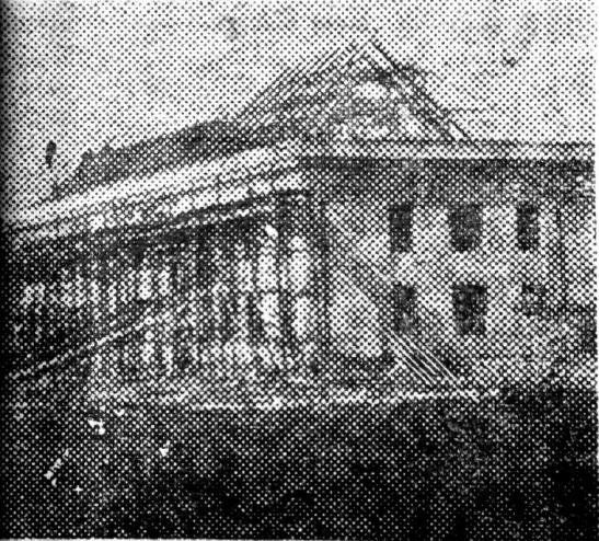 Рис. 11 Строительство новой школы в посёлке Химки.1936г. №79 от 26 июля