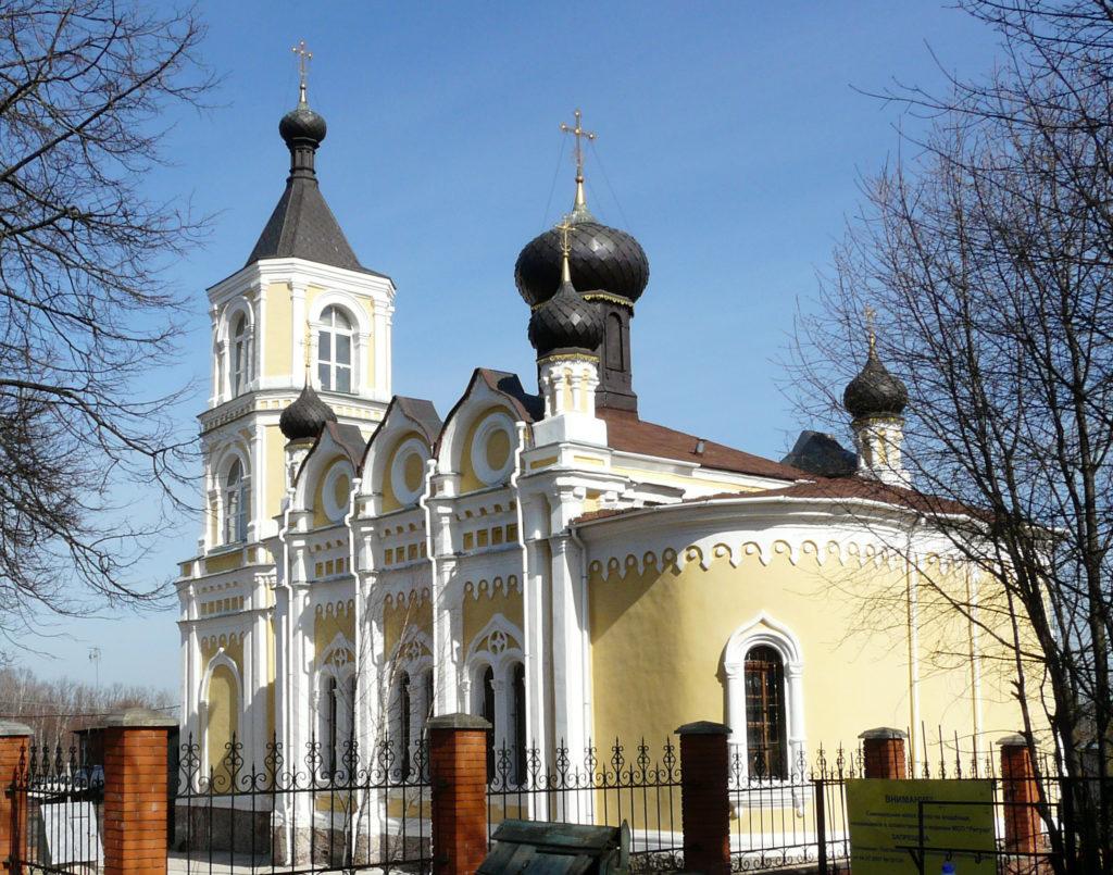 Храм Успения Пресвятой Богородицы в Трахонеево. 2010 год. Фото Д.Ю.Кувыркова.