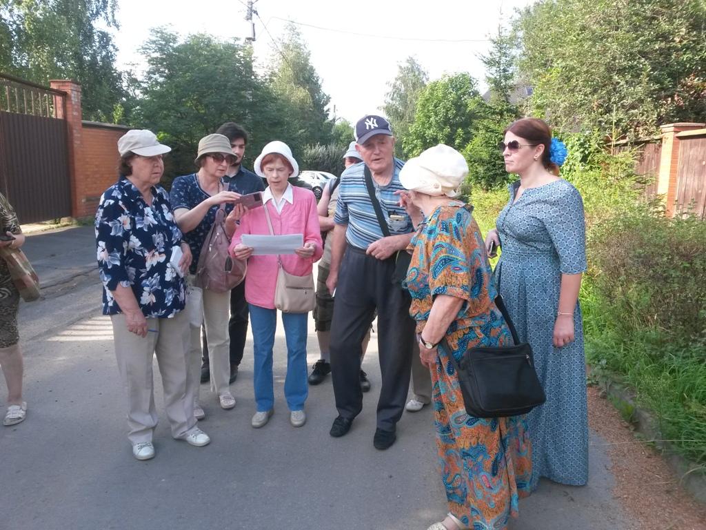 Краеведы в Терехово на бывшем Рогачёвсом тракте