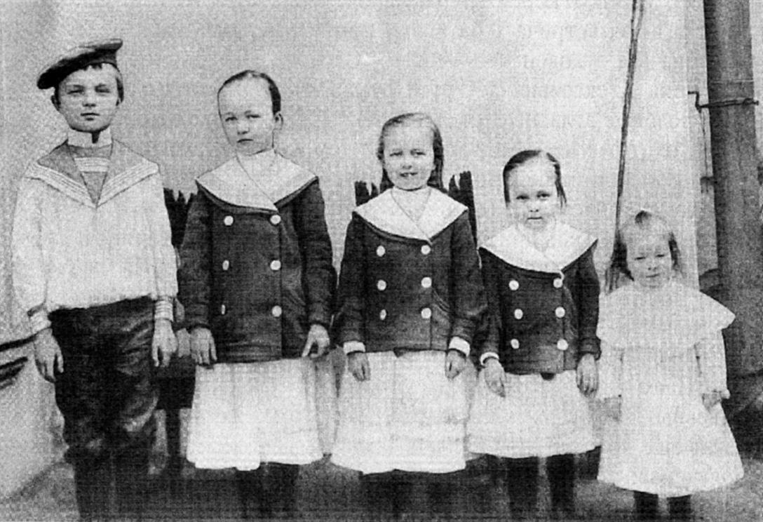 Павел, Ольга, Мария, Анна, Александра.
