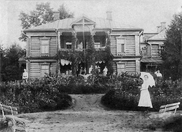 Рис. 3 Усадьба Свистуха. Вид усадебного дома, сер. 1900-егг.[8]