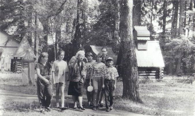 Рис. 20 Знакомство с лагерем