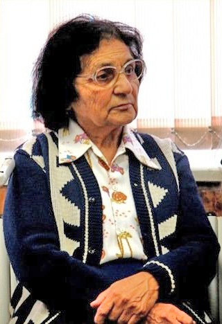 Рис. 4 Вера Михайловна Земскова-Короткова (1919-2018). Фото из музея лицея №21, Сходня.