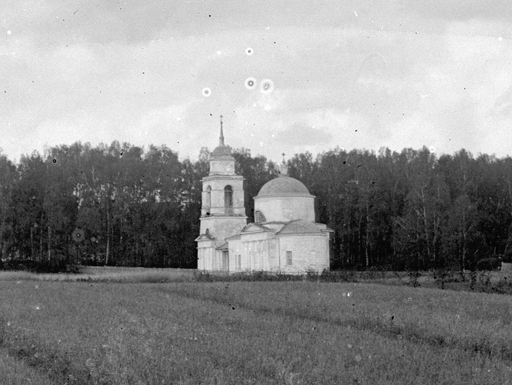 1911 год. Ивакино, церковь. Фото В.В.Кузнецова-старшего.