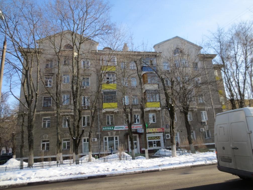 Рис. 2 Дом в пос. Чкаловский, построенный в 1953 году.
