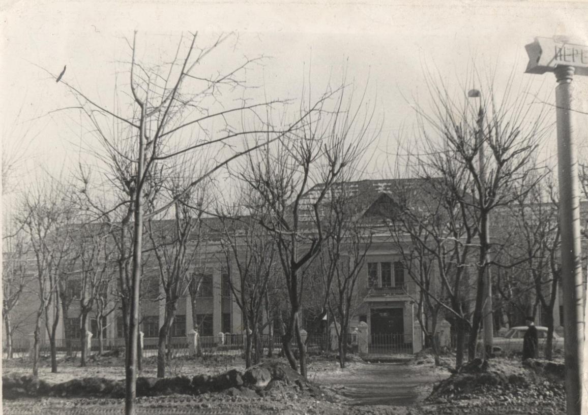 Рис. 5 Школа №3 (в настоящее время школа №5). Снимок 1968 года.