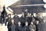 Рис. 7 Ученический совет 3-го класса Химкинской школы, 1935-1936 годы.