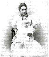 Ольга Томара с сыном.