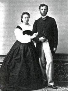 Фёдор и Ольга Мамонтовы 1863
