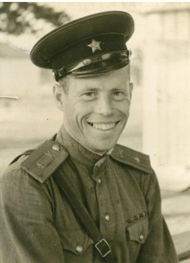 В.К. Рыков в начале 1950-х годов