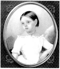 Рис.11. Оля Мамонтова.1853.