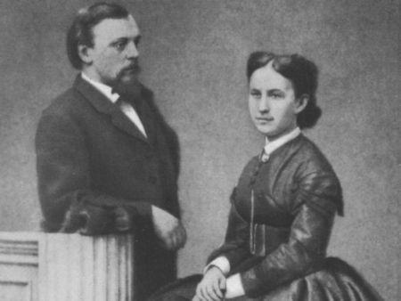Рис.12. Савва и Елизавета Мамонтовы. 1865.