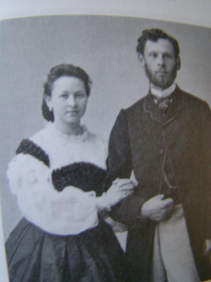 13. Фёдор и Ольга Мамонтовы. 1863.