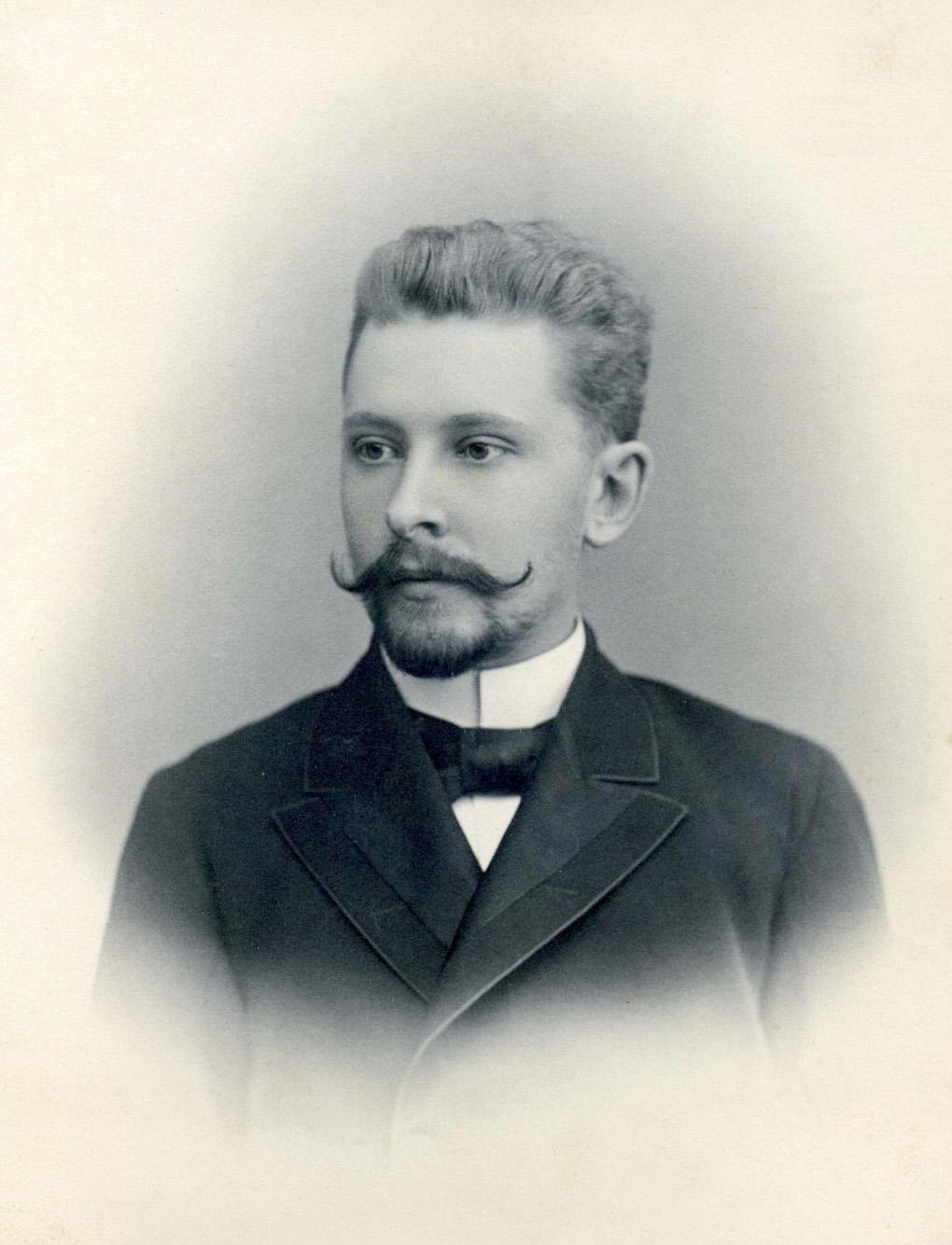 Рис. 4. Георгий Карпович Рахманов. Источник: частная коллекция.
