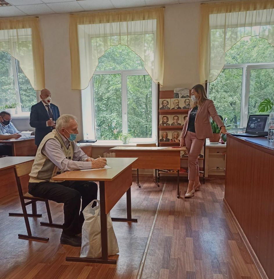 В.В. Чигарёв и И.М. Теслева