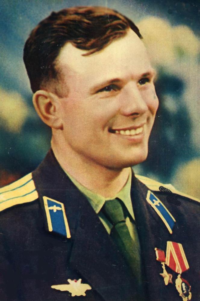 Рис. 9 Юрий Гагарин, апрель 1961 года. Фото ТАСС.