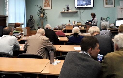 Доклад О.В. Кирьяновой на собрании.