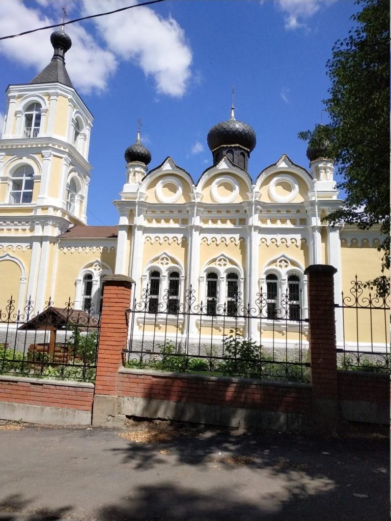 Рис.4 Церковь в Трахонеево, где было скульптурное производство