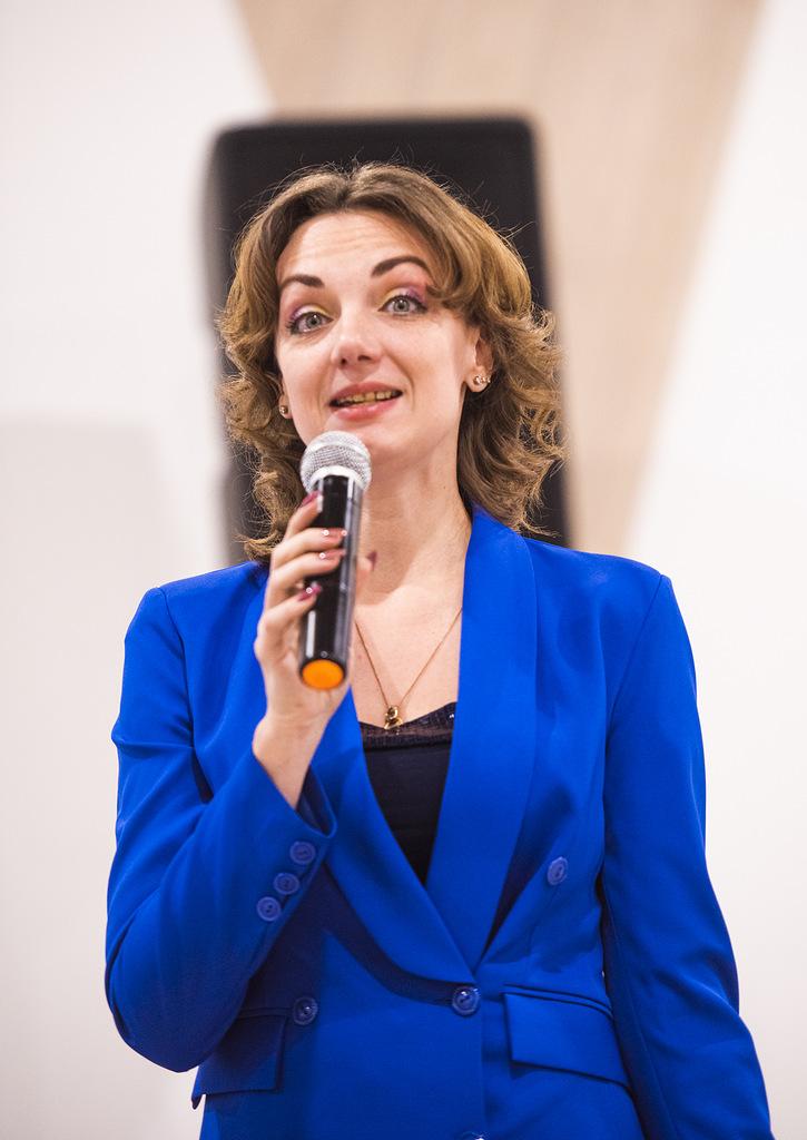 Директор Долгопрудненского историко-художественного музея Н.В. Белолипская